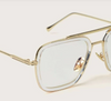 Top Bar Metal Frame Glasses