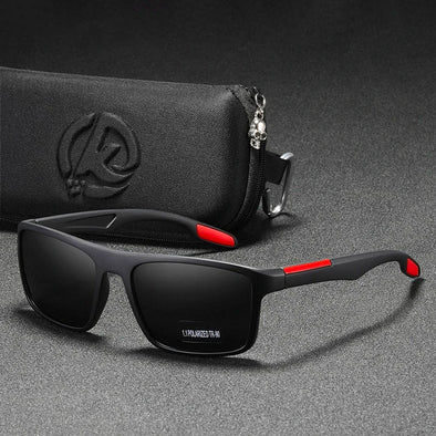 Men Polarized Rectangular Ultra Light Sunglasses