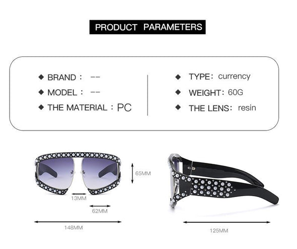 Fashion Diamond Sunglasses