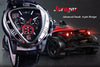 Jollynova - Automatic Racing Design Geometric Triangle Pilot Mechanical Watch
