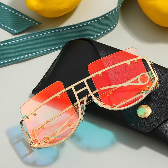 Macarons!Big Frame Retro Sun Glasses