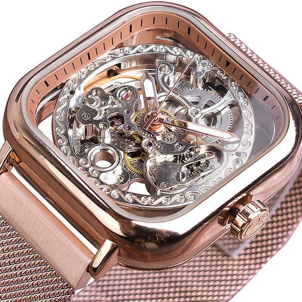 Forsining - Automatic Self-Wind Transparent Watch