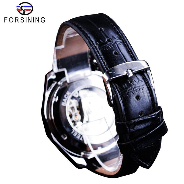 Forsining - Men's Stainless Steel Automatic Mechanical Watch