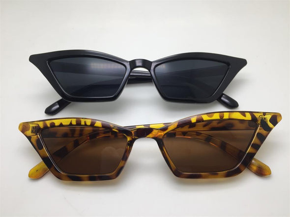 Cute Leopard Cat Eye Women Sunglasses