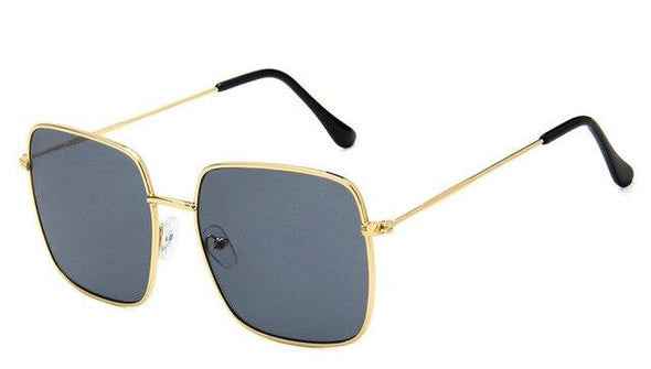 2020 Vintage Square Oversized Sunglasses