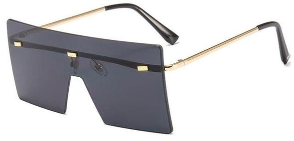 Big Flat Top Sunglasses Fashion