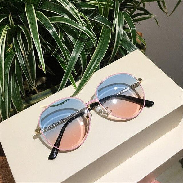 New Brand Designer Women Sunglasses Oversized Female Fashion Sun glasses For Women UV400