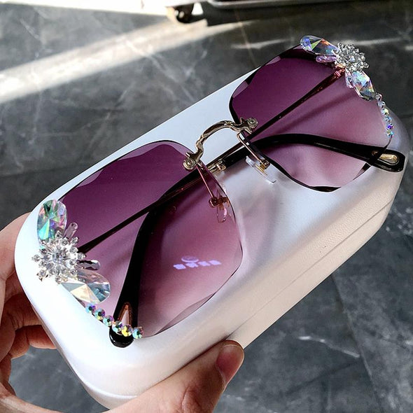 Vinage Sqaure luxury sunglasses