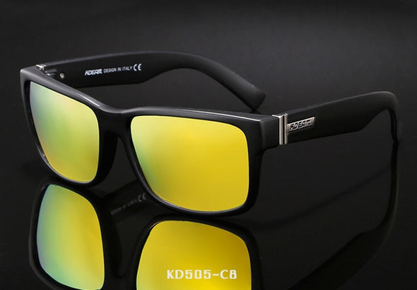 Mens Polarized Shockingly Colors Outdoor Driving Photochromic Sunglass