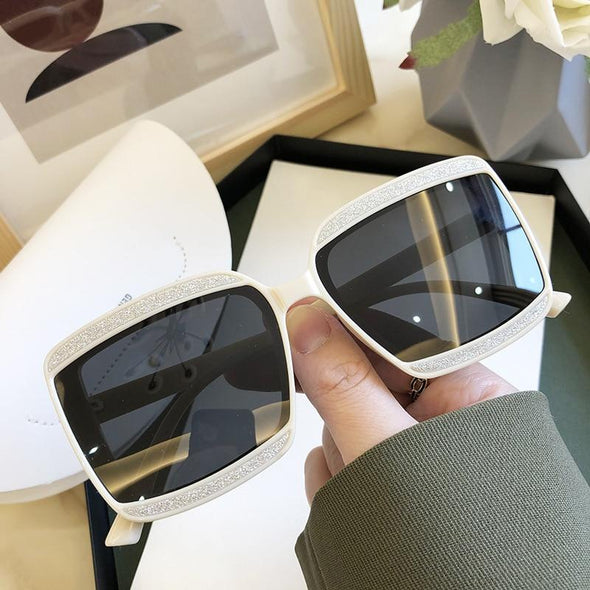 Women Polarized Sunglasses Decoration Classic Round Eyewear Female Original Brand Designer Female Sun Glasses UV400