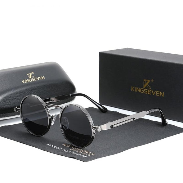 Men's Gothic Steampunk Sunglasses Polarized Eyewear