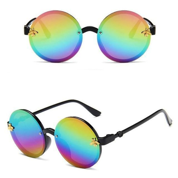 Childrens Round Little Bee Sunglasses