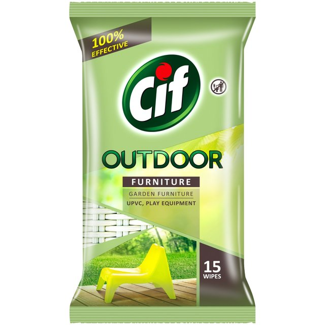 8 x Outdoor Furniture Wipes (Pack of 15)
