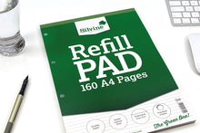 Load image into Gallery viewer, A4 Refill Pad 160 Pages Ruled Narrow Feint A4RPNF