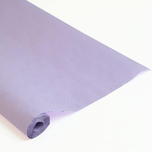 25mtrs Lilac Disposable Paper Banqueting Roll