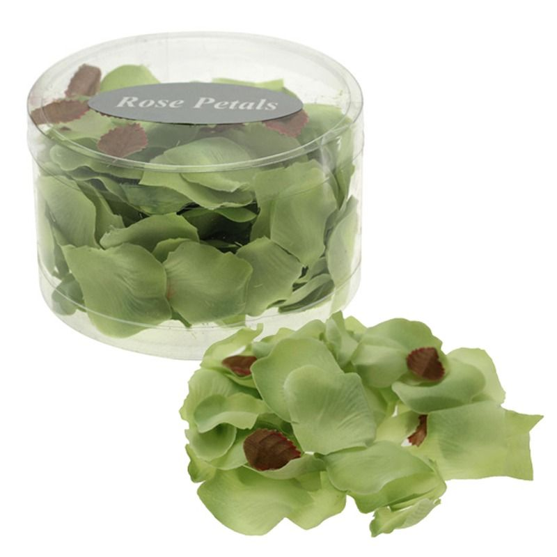 Lime Rose Petals (PVC Tub)