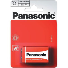 Load image into Gallery viewer, 9V Panasonic Batteries