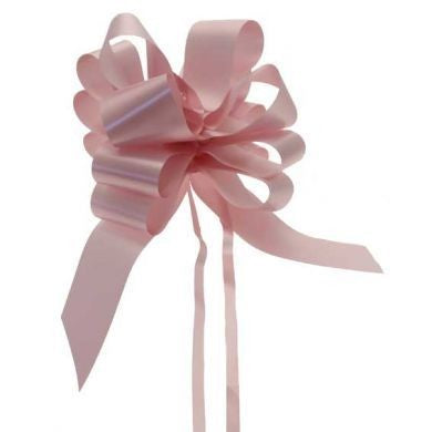 Baby Pink 50mm Pull Bows (Box of 20)