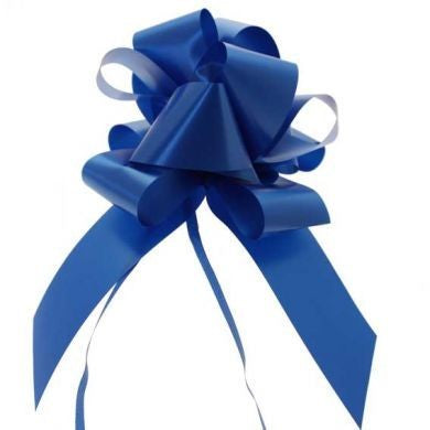 Royal Blue 31mm Pull Bows (Box of 30)