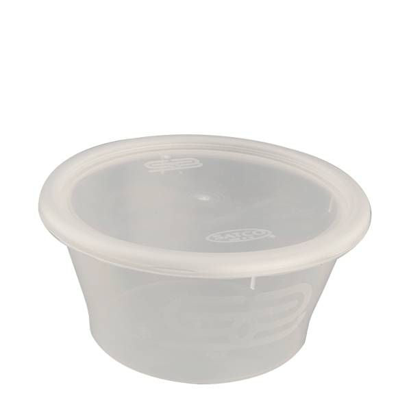 12oz Round Heavy Duty Plastic Containers (Pack of 25pcs)