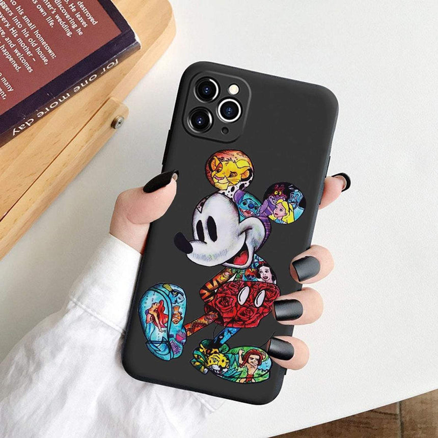 Disney Character iPhone Case - LeftLamp