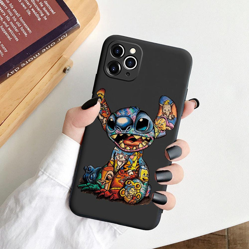 Liquid Silicone Stitch Character Case - LeftLamp
