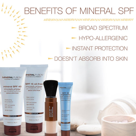 Chemical VS. Mineral Sunscreen SPF