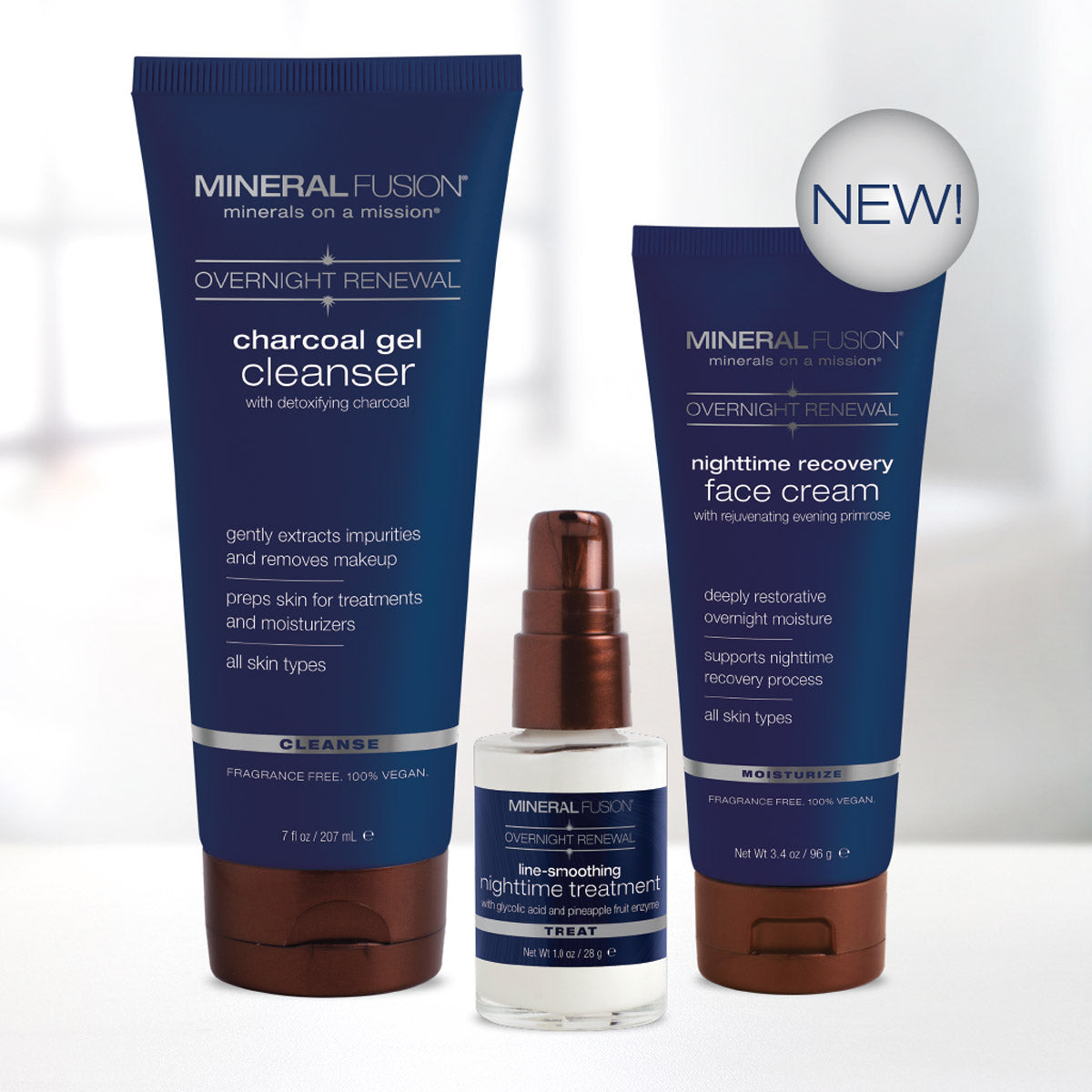 Mineral Fusion Overnight Renewal Skin Care