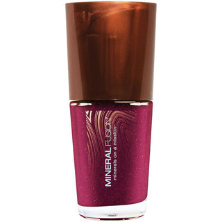 Berried Gem Cranberry Nail Polish Vegan Glitter Finish