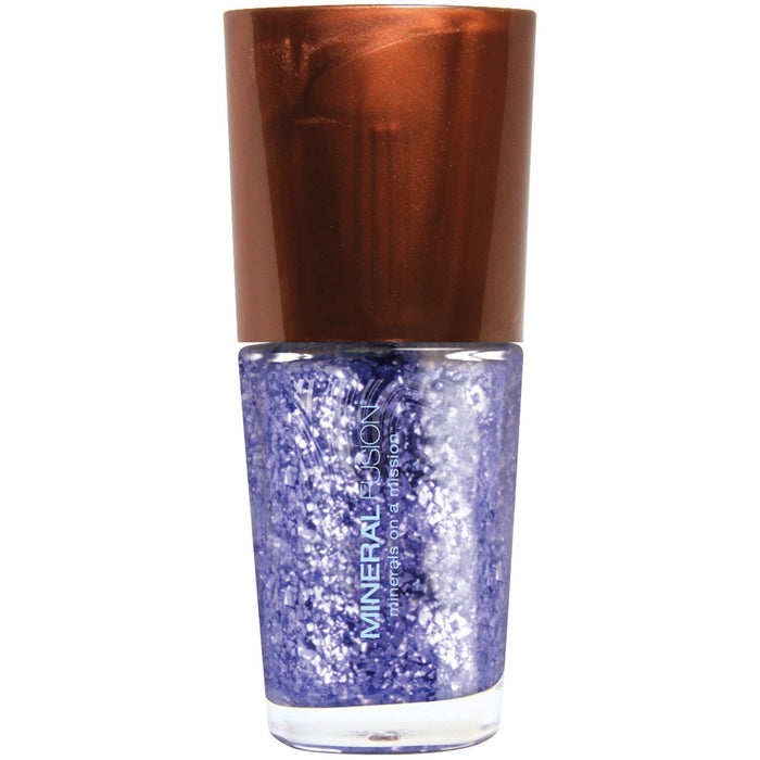 Meteor Shower Glitter Purple Vegan Nail Polish