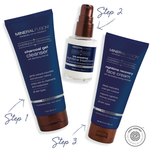 Overnight Renewal Skin Care Kit