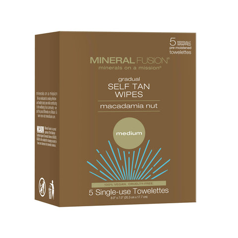 Gradual Self Tan Wipes