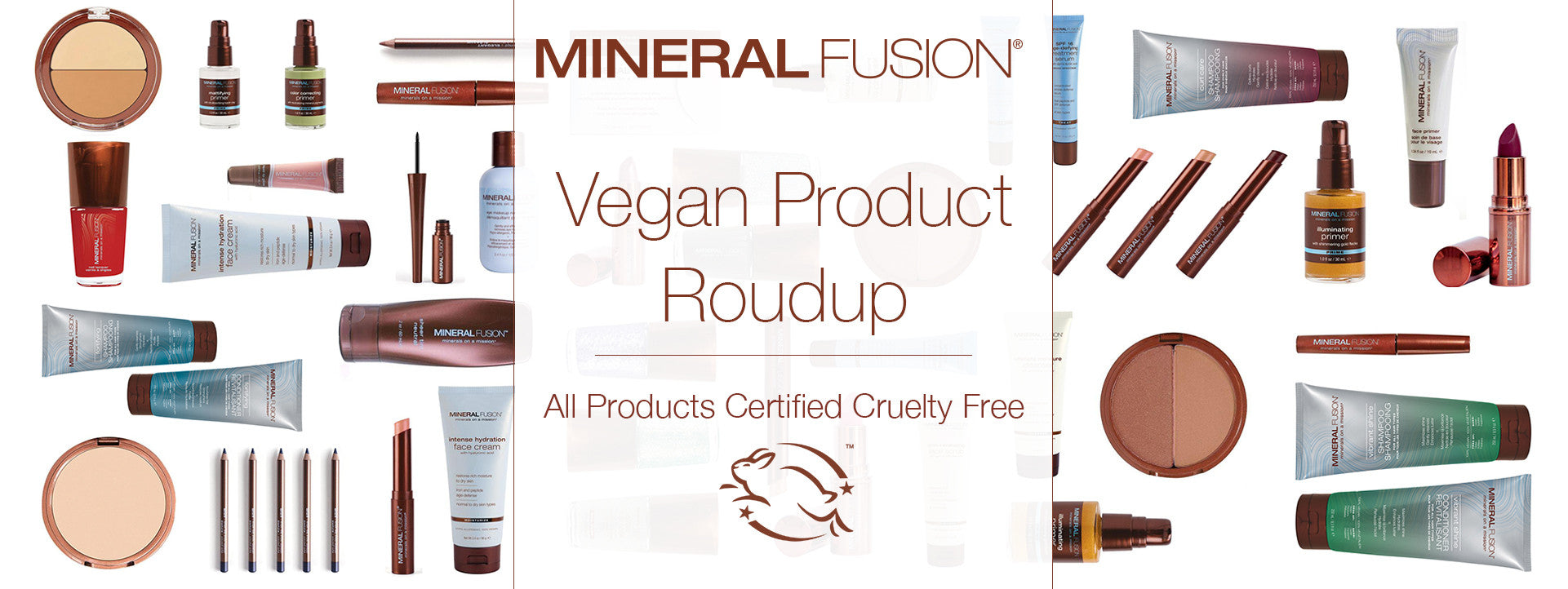 Enjoy our increased selection of Vegan cosmetics