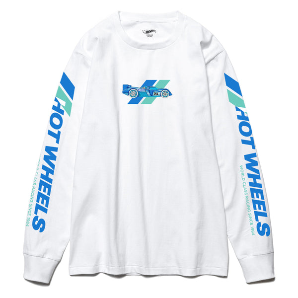 White Team Racing Long Sleeve T-shirt
