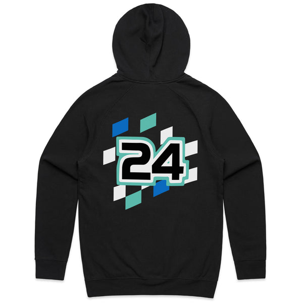 Black Team Racing Hoodie
