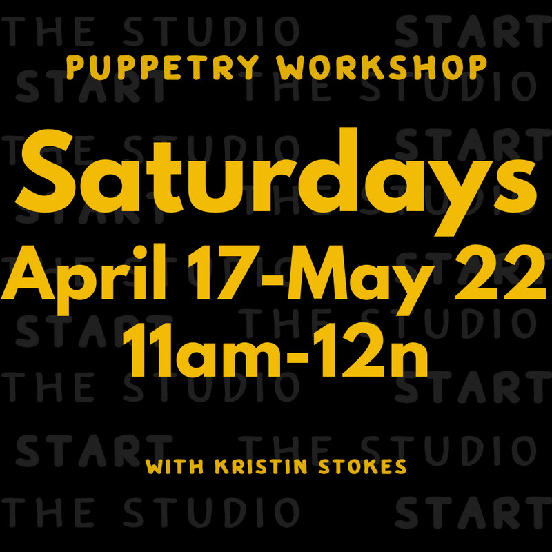 Puppetry Workshop with Kristin Stokes (Ages 8-12)