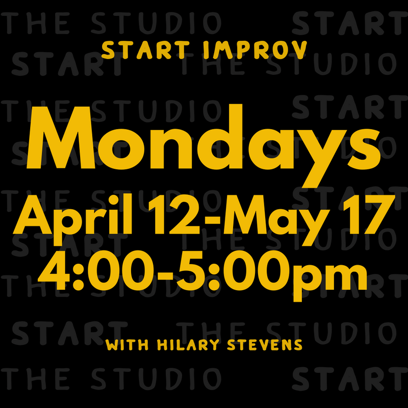 START Improv (Ages 9-13)- SOLD OUT