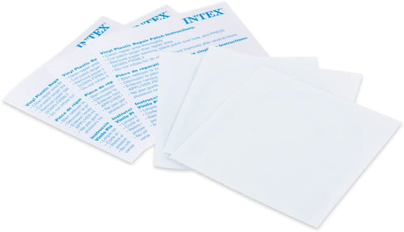 Intex Vinyl Plastic Puncture Repair Kit Patches for Pools Spas and Hot Tubs