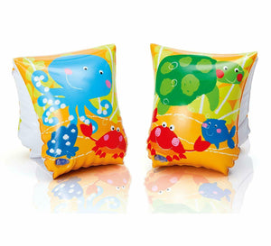 Intex Inflatable Tropical Buddies Arm Bands/Swim Wings for Kids
