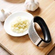 Curved Garlic Press