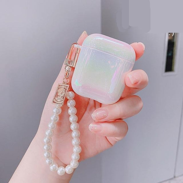 3D Love Pearl Shell Earphone case - Mahina-shop