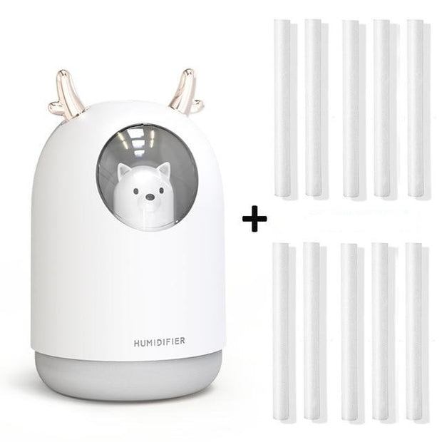 Cute Pet Ultrasonic Cool Mist Aroma Air Oil Diffuser - Mahina-shop