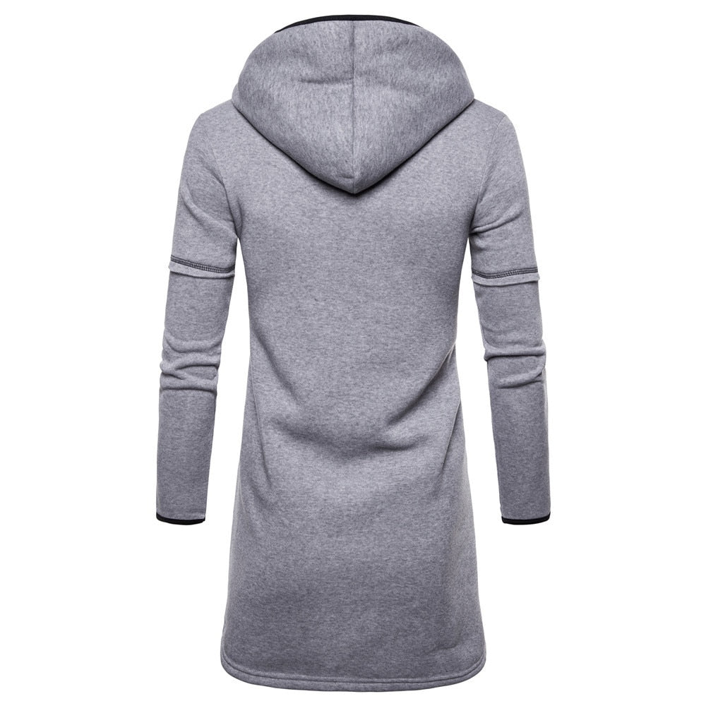 men's hoodies 2020 brand male long sleeve solid hoodie hoodie and zipper sweatshirts men black big size