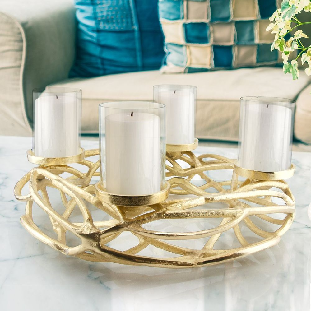Branch Nest Multi-Candle Holder