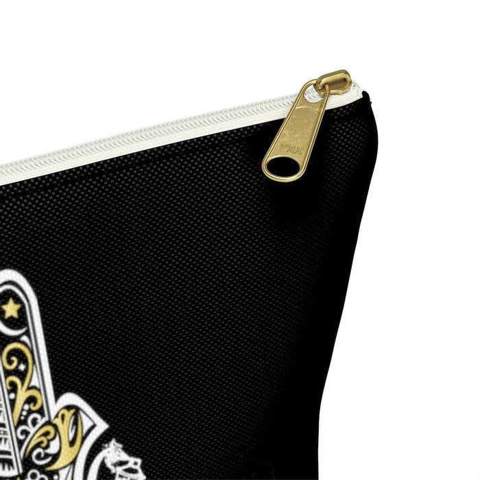 Black Hamza Hand Accessory Pouch