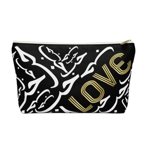 Black LOVE Accessory Pouch
