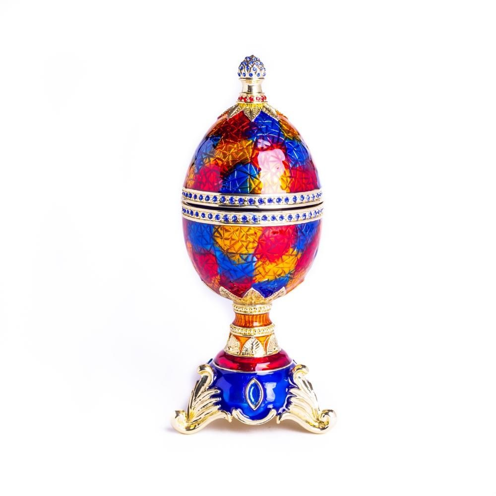 Colorful Music Playing Faberge Egg