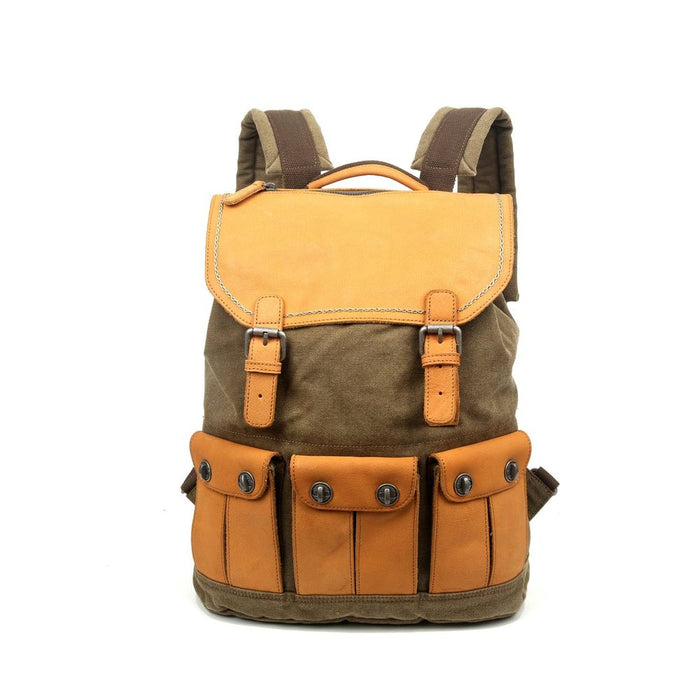 Valley River Canvas Backpack