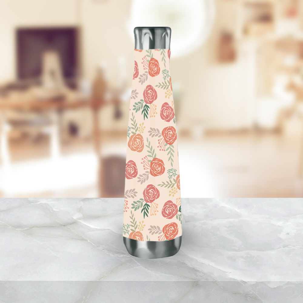 Warm Floral Water Bottle