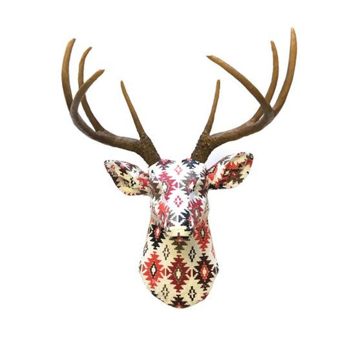 Faux Southwestern Fabric Deer